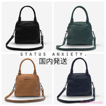 STATUS ANXIETY A4 Office Style Shoulder Bags