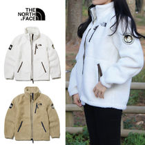 THE NORTH FACE RIMO Unisex Street Style Plain Logo Fleece Jackets Jackets