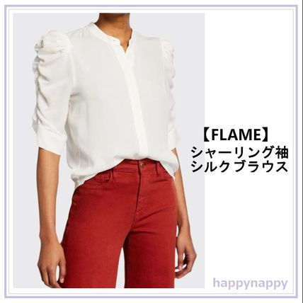 Casual Style Silk Plain Office Style Elegant Style
