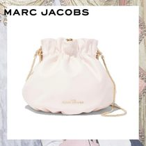 MARC JACOBS Flower Patterns Casual Style Vanity Bags 2WAY Plain Leather