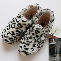 VANS SLIP ON Unisex Faux Fur Collaboration Other Animal Patterns