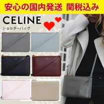 CELINE Trio Bag 2WAY Crossbody Shoulder Bags