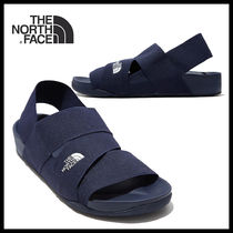 THE NORTH FACE Casual Style Unisex Street Style Logo Sandals Sandal