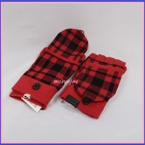 Coach Other Check Patterns Touchscreen Gloves