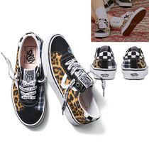 VANS OLD SKOOL Unisex Faux Fur Collaboration Other Animal Patterns