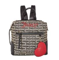 JUICY COUTURE Heart Casual Style Backpacks