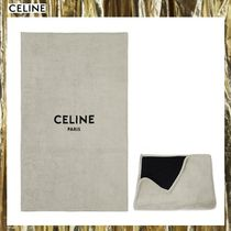 CELINE Unisex Plain Black & White Bath & Laundry