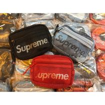 Supreme Camouflage Unisex Street Style Collaboration 2WAY Plain