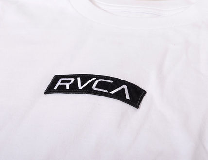 RVCA More T-Shirts Unisex Street Style Cotton Short Sleeves Logo T-Shirts 11