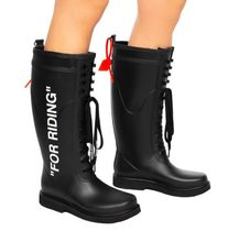 Off-White Rain Boots Boots