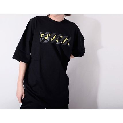 RVCA More T-Shirts Unisex Street Style Cotton Short Sleeves Logo T-Shirts 6
