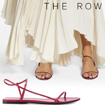 The Row Open Toe Leather Sandals Sandal