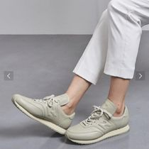 New Balance Unisex Street Style Collaboration Logo Low-Top Sneakers