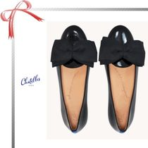 Chatelles Round Toe Casual Style Plain Flats