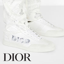 Christian Dior Plain Leather Sneakers