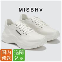 MISBHV Street Style Plain Leather Sneakers