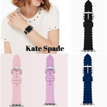 kate spade new york Casual Style Silicon Elegant Style Apple Watch Belt Watches