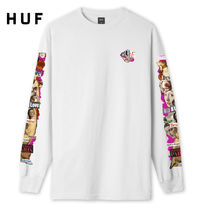 HUF Street Style Long Sleeves Long Sleeve T-shirt Logo