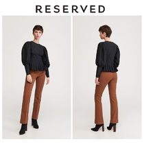 RESERVED Puff Sleeves Shirts & Blouses