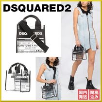 D SQUARED2 Casual Style 2WAY PVC Clothing Handbags