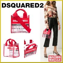 D SQUARED2 Casual Style Blended Fabrics 2WAY Bi-color PVC Clothing