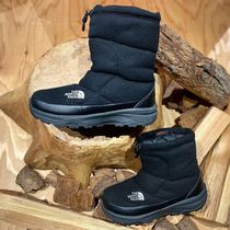 THE NORTH FACE Mountain Boots Rubber Sole Casual Style Unisex Plain Logo