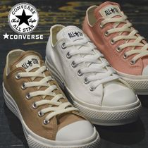CONVERSE ALL STAR Platform Rubber Sole Lace-up Casual Style Plain