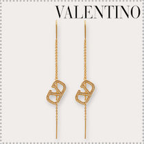 VALENTINO VLOGO Costume Jewelry Casual Style Party Style Elegant Style