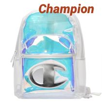 CHAMPION Casual Style Unisex Street Style A4 Backpacks
