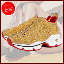 Christian Louboutin Casual Style Low-Top Sneakers