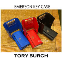 Tory Burch Saffiano Plain Keychains & Bag Charms