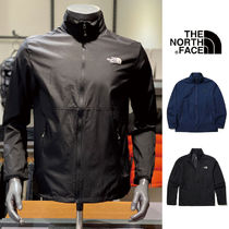 THE NORTH FACE WHITE LABEL Unisex Nylon Plain Nylon Jacket  Logo Track Jackets