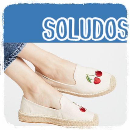 Round Toe Rubber Sole Casual Style Plain Flats