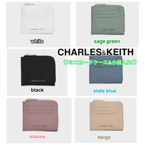 Charles&Keith Faux Fur Plain Long Wallet  Small Wallet Coin Cases