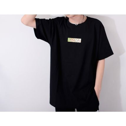 RVCA More T-Shirts Unisex Street Style Cotton Short Sleeves Logo T-Shirts 4
