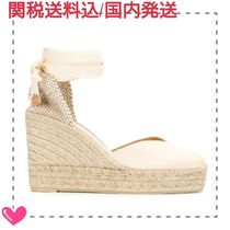 Castaner Leather Platform & Wedge Sandals