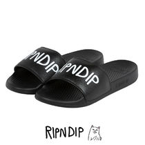 RIPNDIP Street Style Shower Shoes Shoes