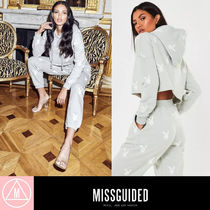 Missguided Short Sweat Rib Street Style Collaboration Long Sleeves