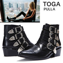TOGA Studded Street Style Other Animal Patterns Leather