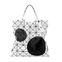 ISSEY MIYAKE Dots Casual Style A4 Office Style Elegant Style Totes