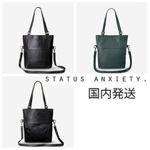 STATUS ANXIETY A4 Office Style Totes