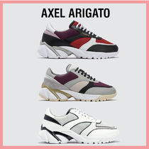 AXEL ARIGATO Rubber Sole Casual Style Low-Top Sneakers