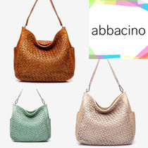 Abbacino Casual Style A4 Leather Totes