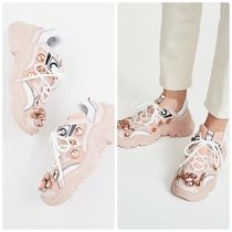 N21 numero ventuno Lace-up Casual Style Street Style Low-Top Sneakers