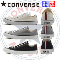CONVERSE ALL STAR Stripes Star Rubber Sole Casual Style Unisex Plain Logo