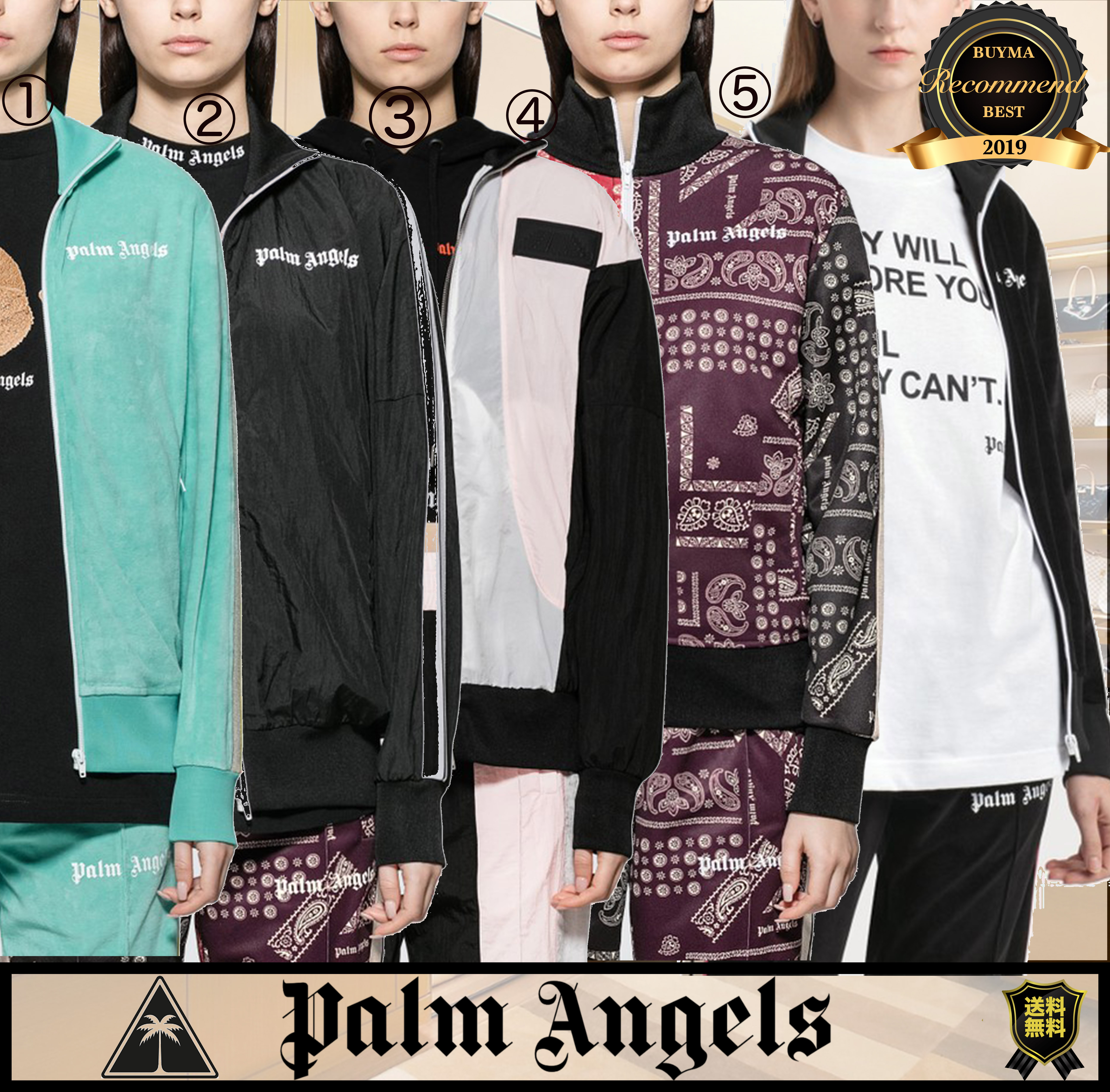 shop palm angels clothing