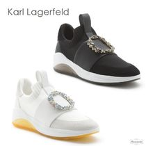 Karl Lagerfeld With Jewels Slip-On Shoes