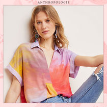 Anthropologie Tropical Patterns Casual Style Unisex Blended Fabrics