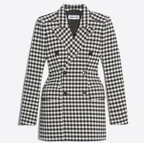 BALENCIAGA Gingham Plain Jackets