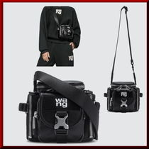 Alexander Wang Casual Style Leather Shoulder Bags